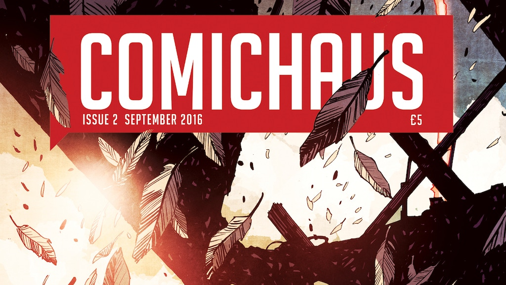 Comichaus - The New British Monthly Comic Book Anthology project video thumbnail