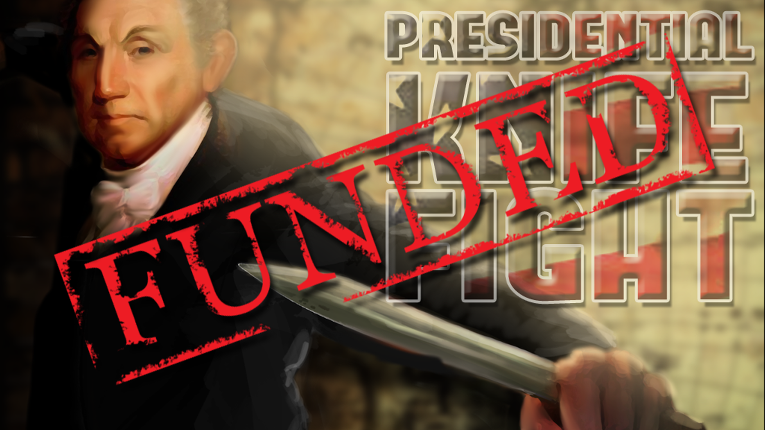 """Stab your way to victory, and become the Supreme President of These United States with this """"take that"""" style game for 3-6 players."""