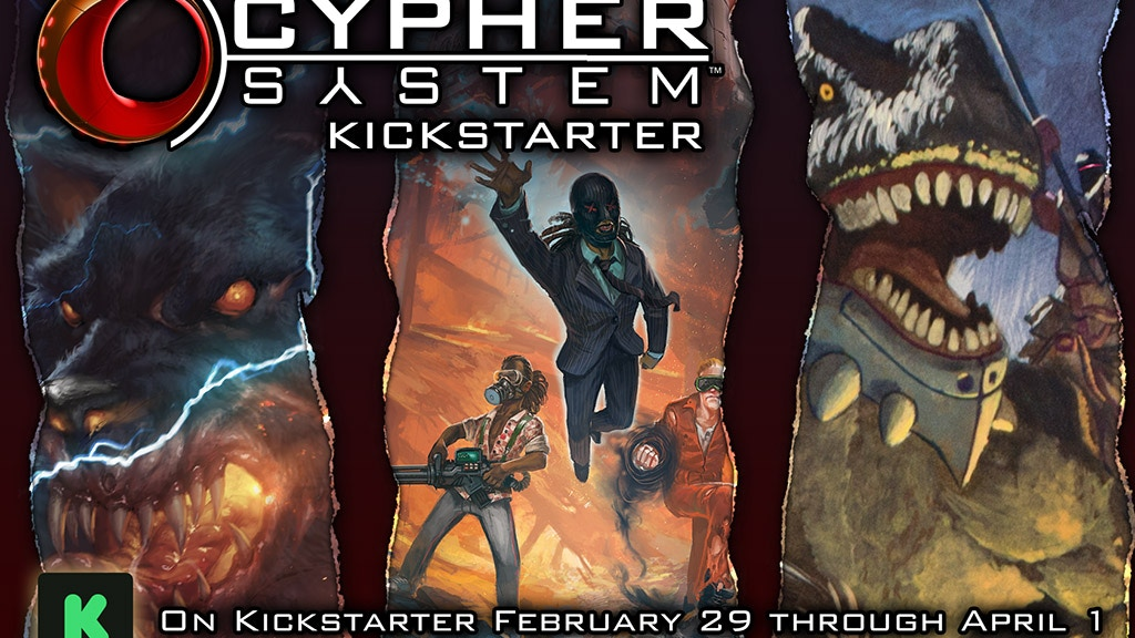 Worlds of the Cypher System project video thumbnail