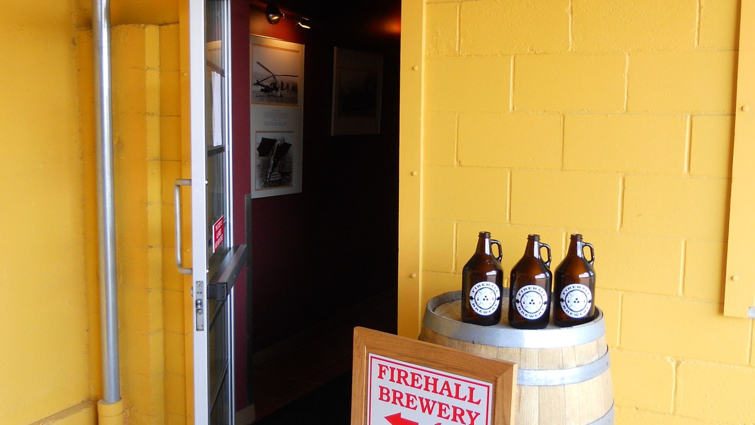 Beer is freshest at the source. So it's about time we add a retail beer shop to the Old Firehall.