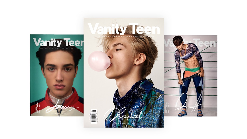 Vanity Teen issue 8 pre order project video thumbnail