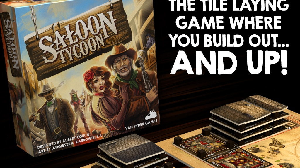 Saloon Tycoon - The tile game that builds out & UP! project video thumbnail