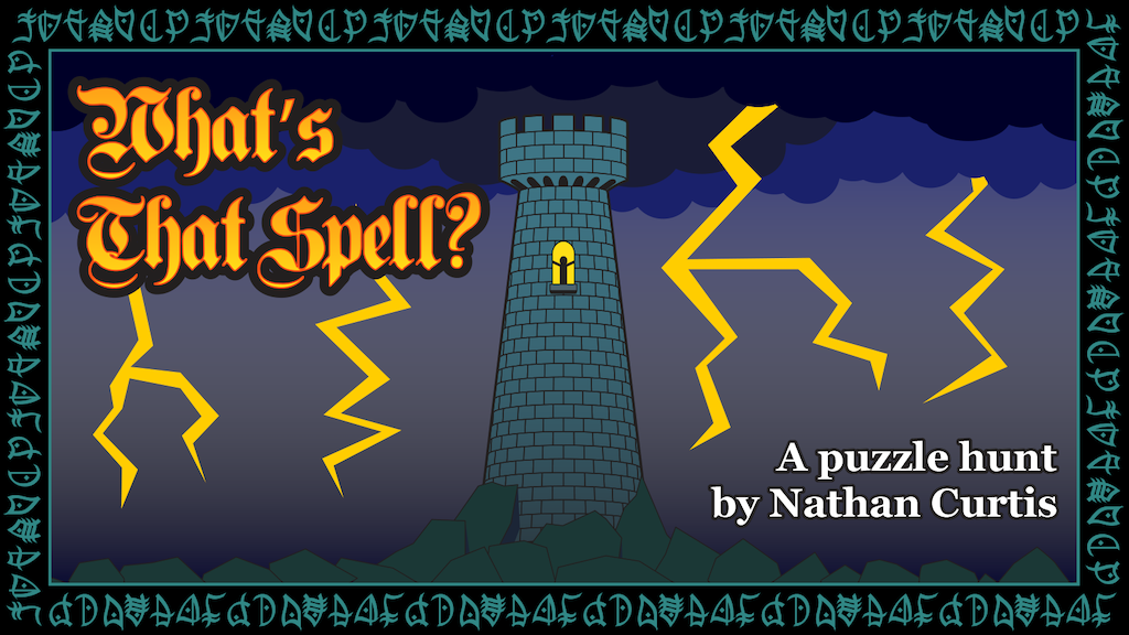 What's That Spell? Puzzle hunt by Nathan Curtis project video thumbnail