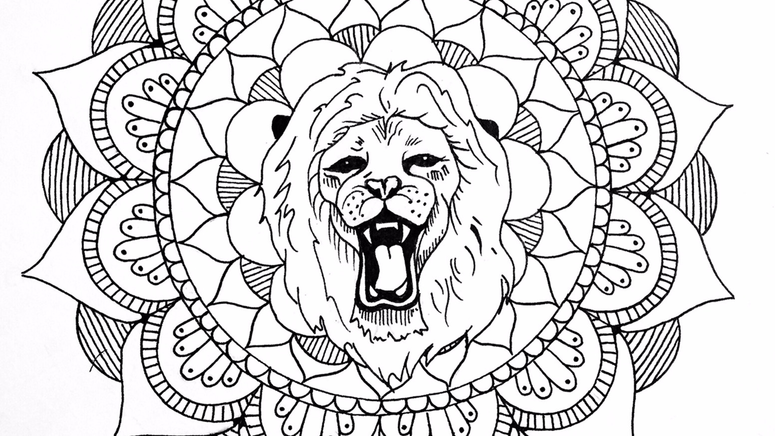 Meditation and Hand Cramps, An Adult Coloring Book by Becca Leisch ...