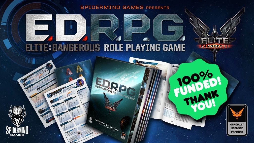 Elite: Dangerous Role Playing Game (ED RPG) project video thumbnail