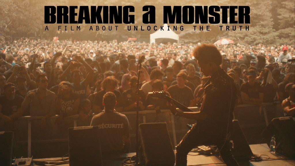 BREAKING A MONSTER a film about the band Unlocking The Truth project video thumbnail