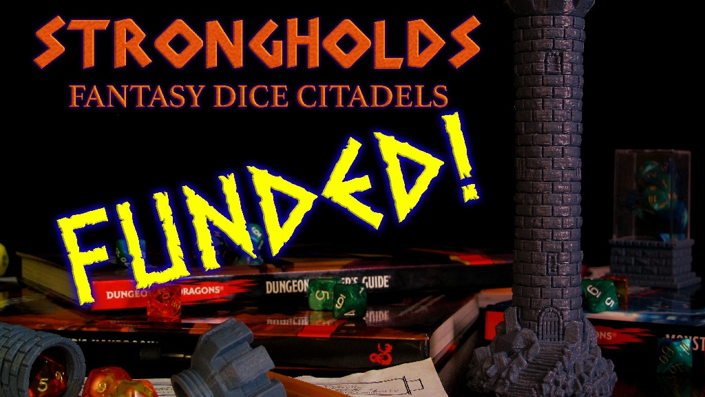 Strongholds: Fantasy Dice Citadels project video thumbnail
