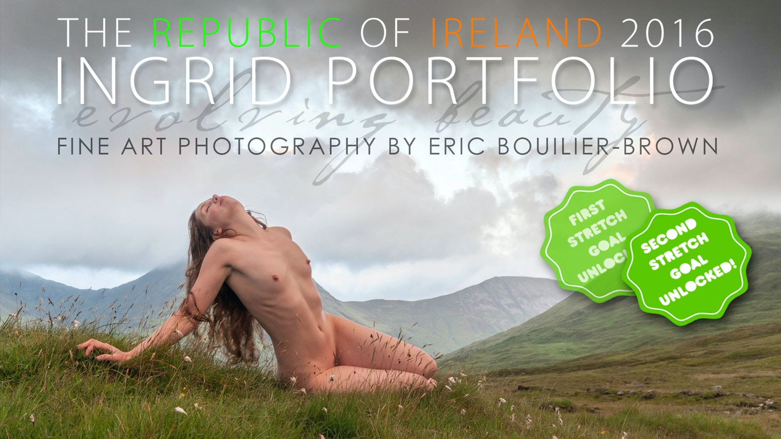 To mark 30 years of photography, I'm heading to Ireland with Ingrid, who's worked with me since 1998, to create a new body of work.