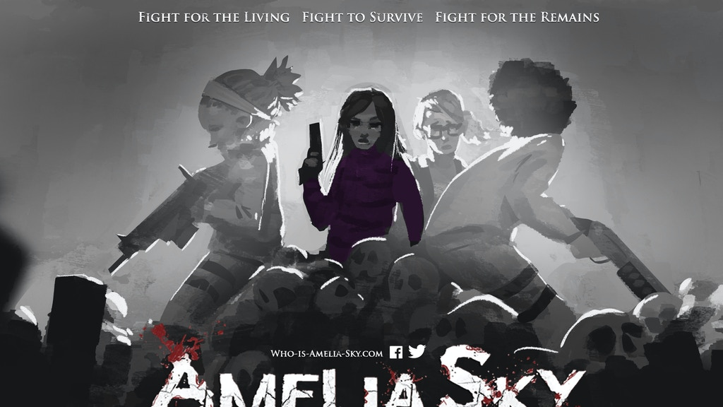 Amelia Sky: Comic Book Series project video thumbnail