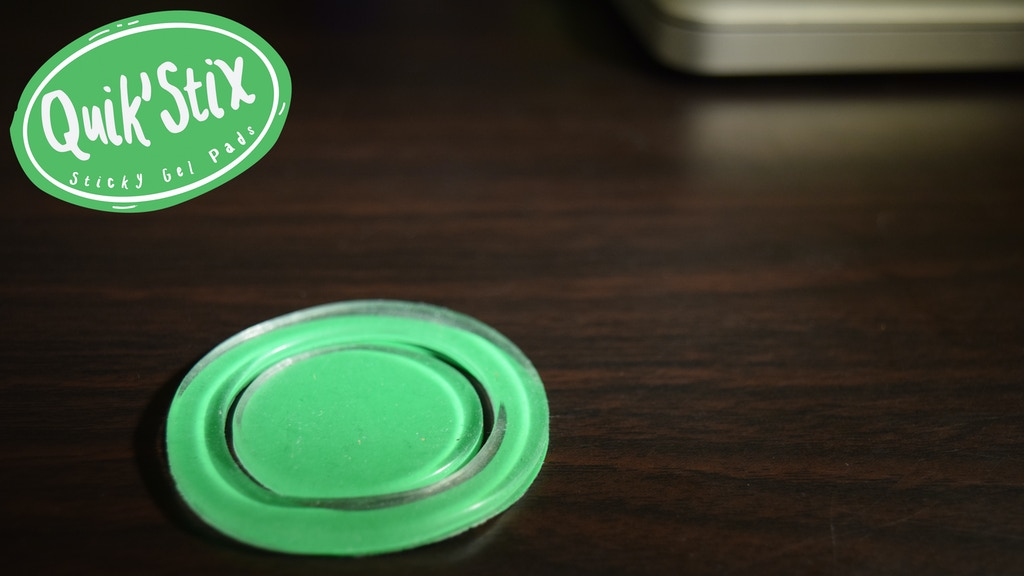 Quik'Stix: A Small, Compact, Sticky Gel Pad Unlike Any Other project video thumbnail