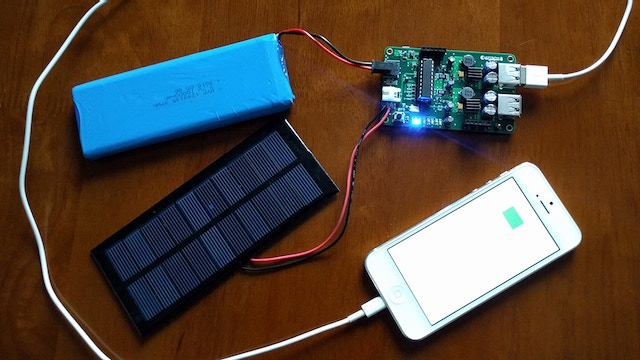 Make Your Own USB Solar Mobile Charger By