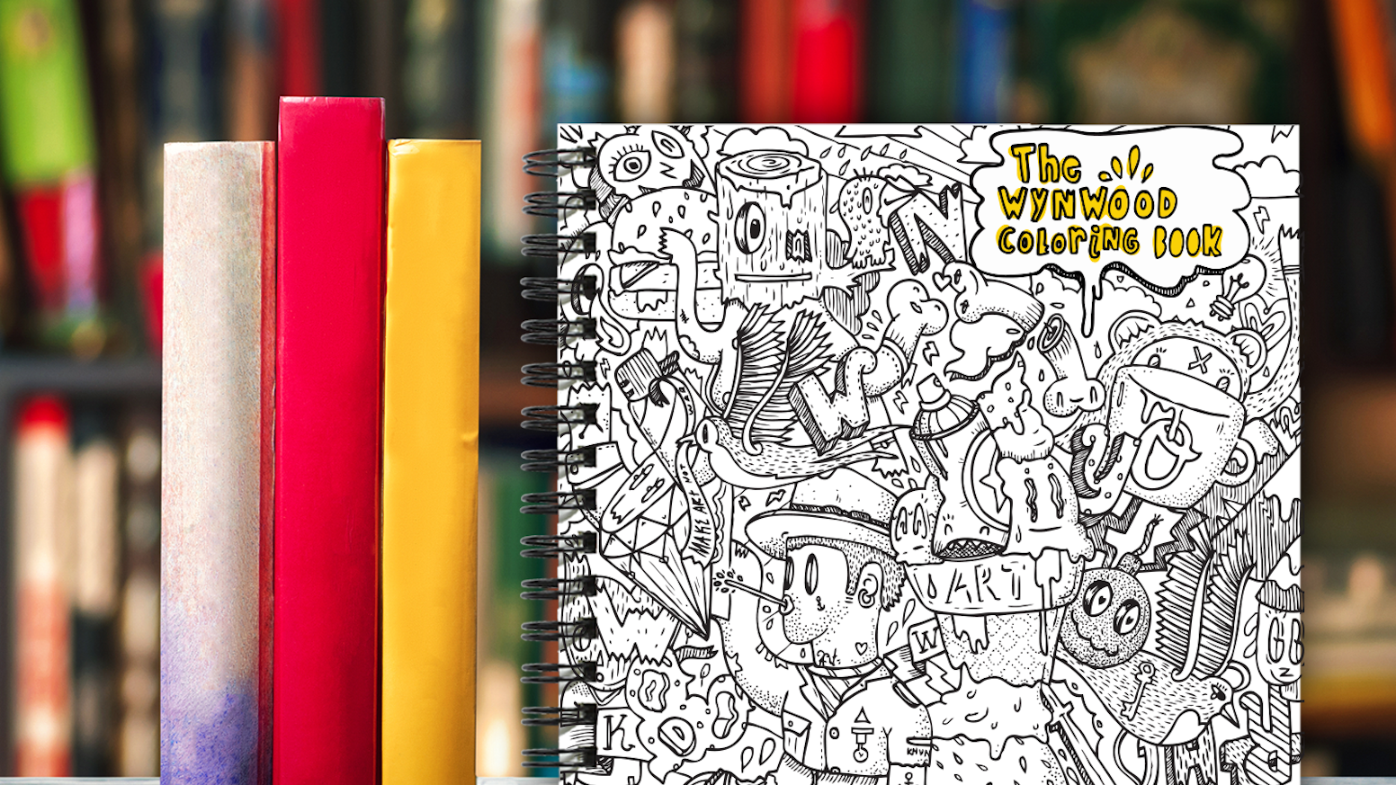 The Wynwood Coloring Book - Discover Your Inner Artist! by ...