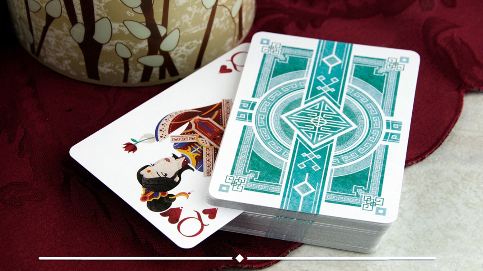 An unique playing card series inspired by my Chinese culture and heritage, designed and illustrated by Brendan Hong.