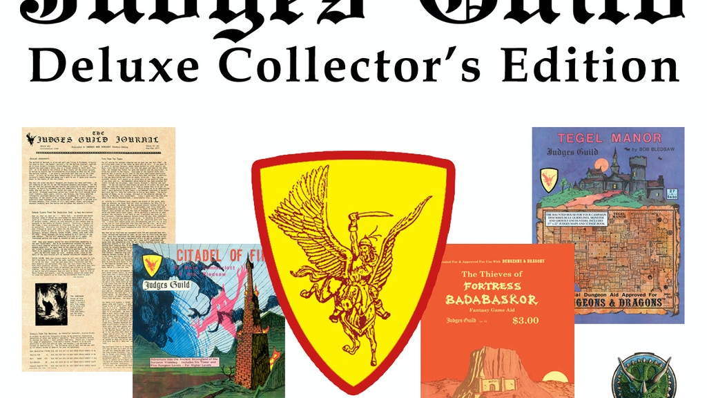 Judges Guild Deluxe Collector's Edition project video thumbnail