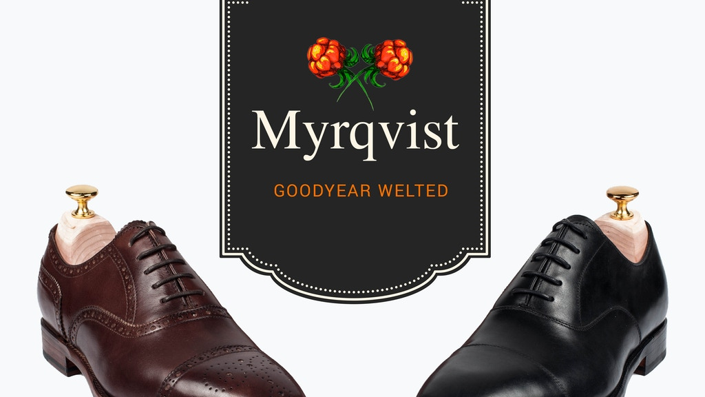 Myrqvist Goodyear Welted - Affordable high-quality shoes project video thumbnail