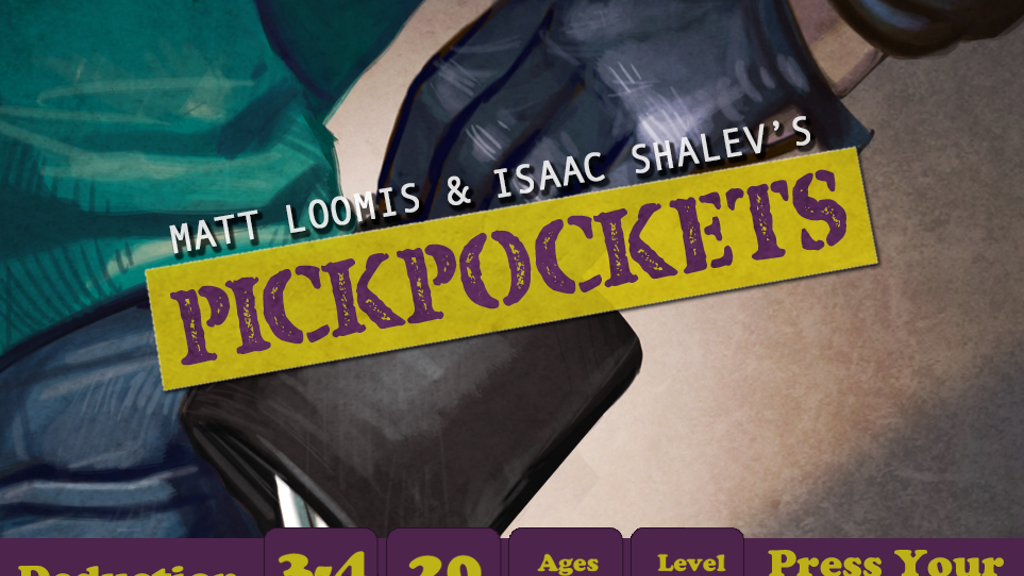 Pickpockets - A steal of a game at just $8. project video thumbnail