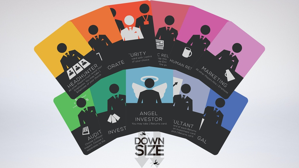 Downsize - A Competitive Card Game for 2-6 Players project video thumbnail