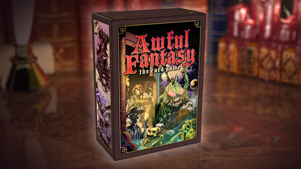Awful Fantasy: The Card Game project video thumbnail