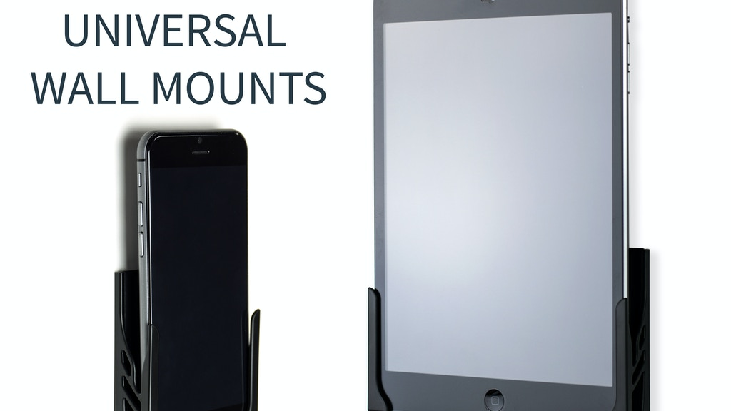 Koala Mount 2.0; Universal Smartphone and Tablet Wall Mount project video thumbnail