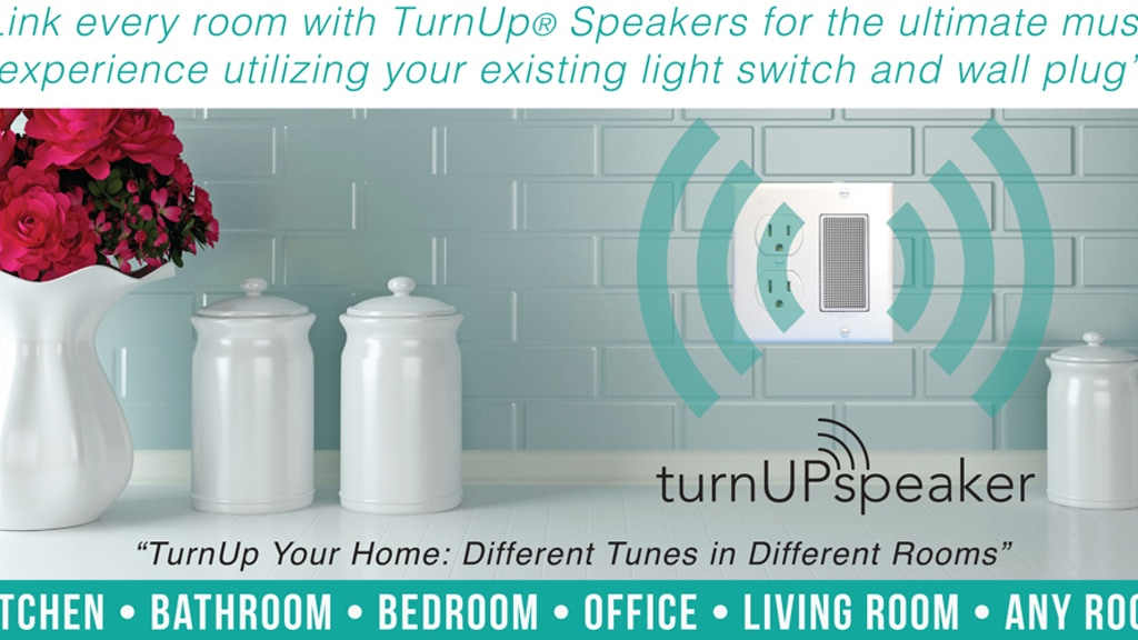 Project image for turnUP Speaker: True Wireless Home Audio.