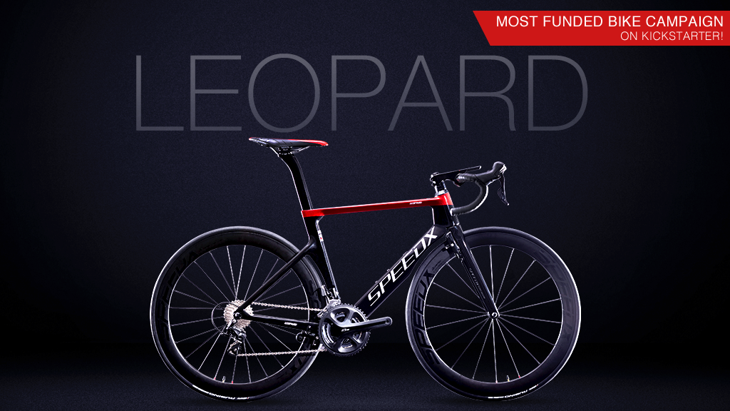 SpeedX Leopard | the first ever smart aero road bike project video thumbnail