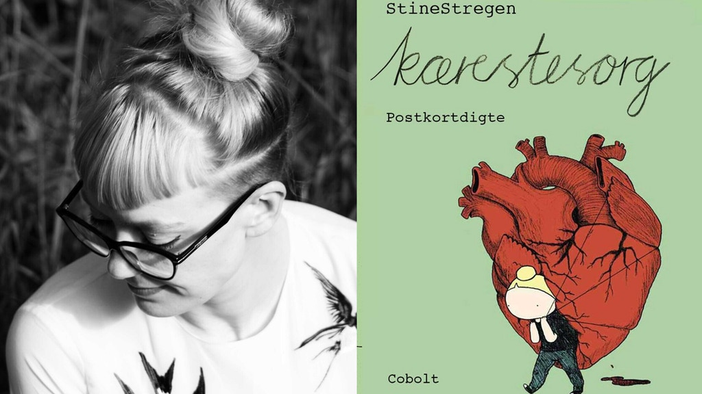 Kærestesorg / Heartbroken - postcard poems by StineStregen project video thumbnail