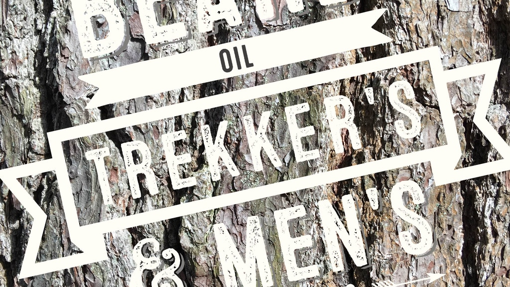 trekker 39 s beard oil men 39 s grooming co by stephen smith kickst. Black Bedroom Furniture Sets. Home Design Ideas