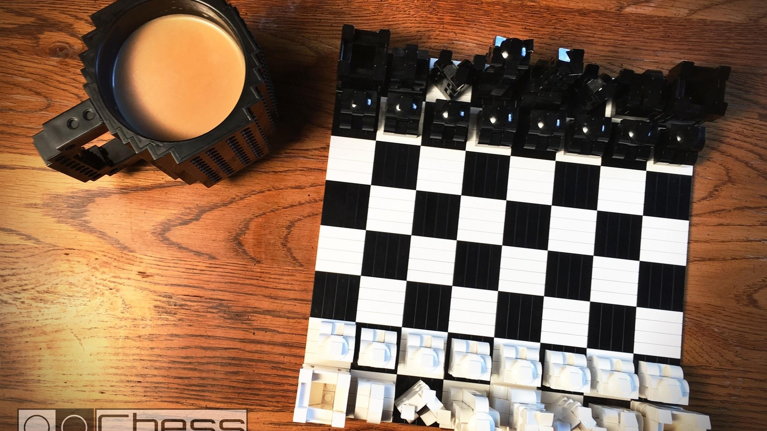Superior coffee table chess sets  for the LEGO® fan in you.