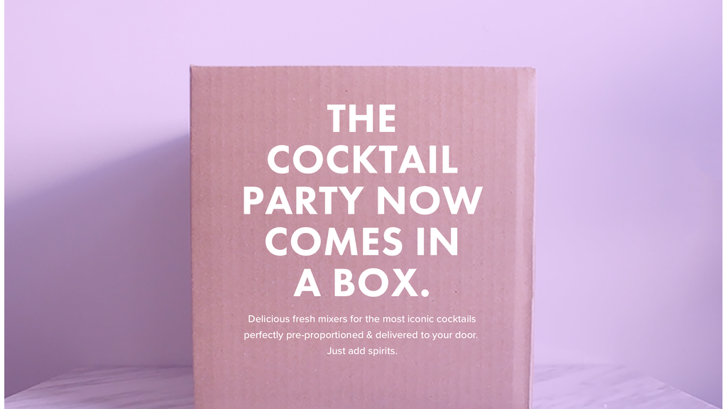 Swig + Swallow: Cocktails for a crowd, delivered project video thumbnail