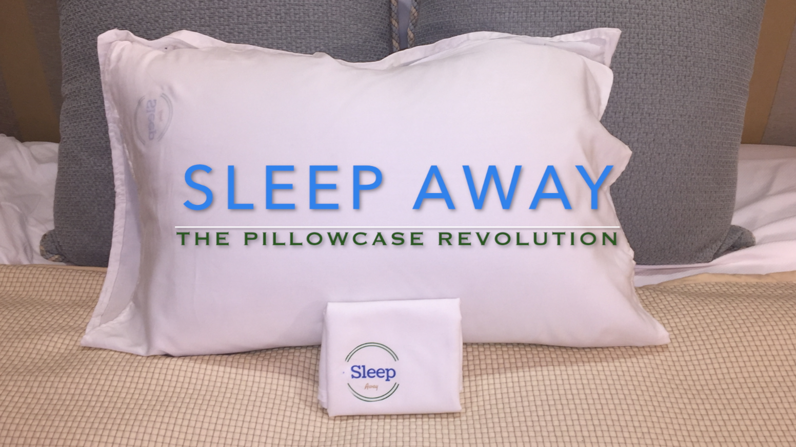 Fight breakouts & damaged hair. A clean, easier way to case your pillow.