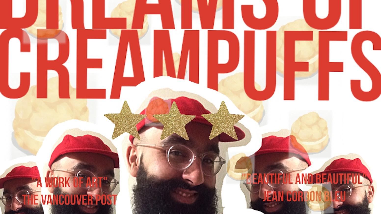 Sweet boy dreams of cream puffs by chams — Kickstarter