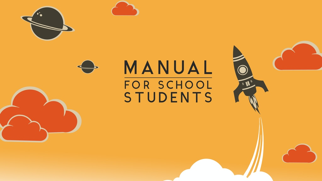 Manual for School Students project video thumbnail