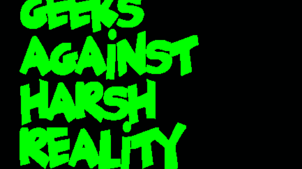 Geeks Against Harsh Reality is a stand-alone game similar to that other popular card game, but this one pokes fun at all of geekdom.