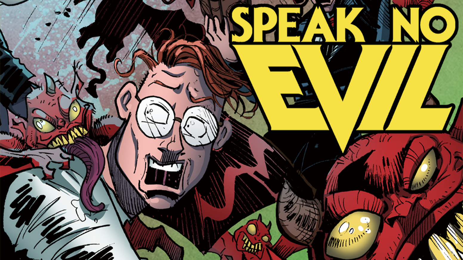Image result for speak no evil comic