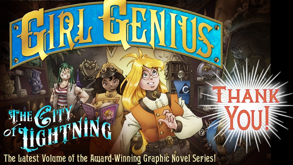 The City of Lightning: a Girl Genius Graphic Novel project video thumbnail