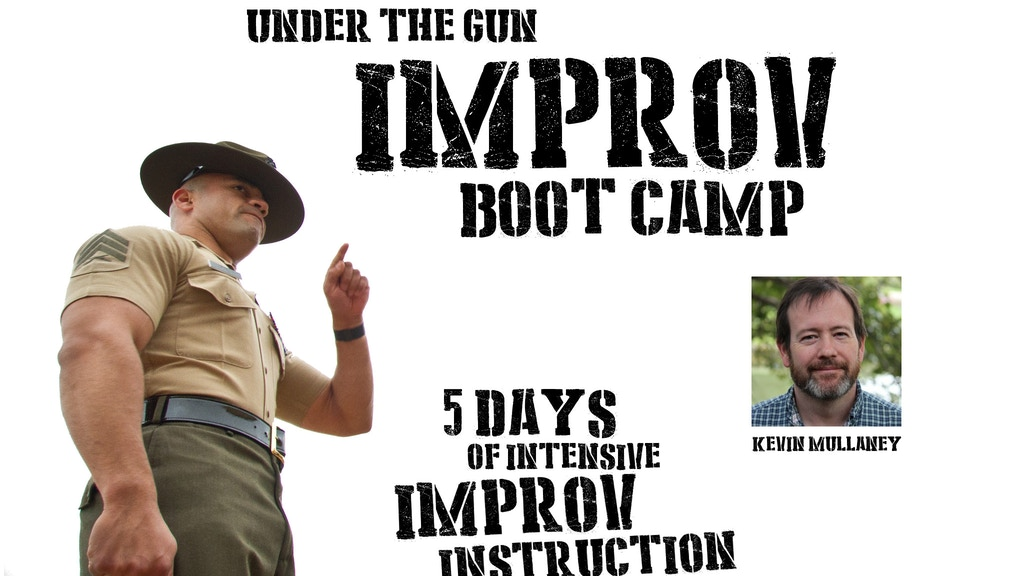 Under The Gun Improv Bootcamp NYC project video thumbnail