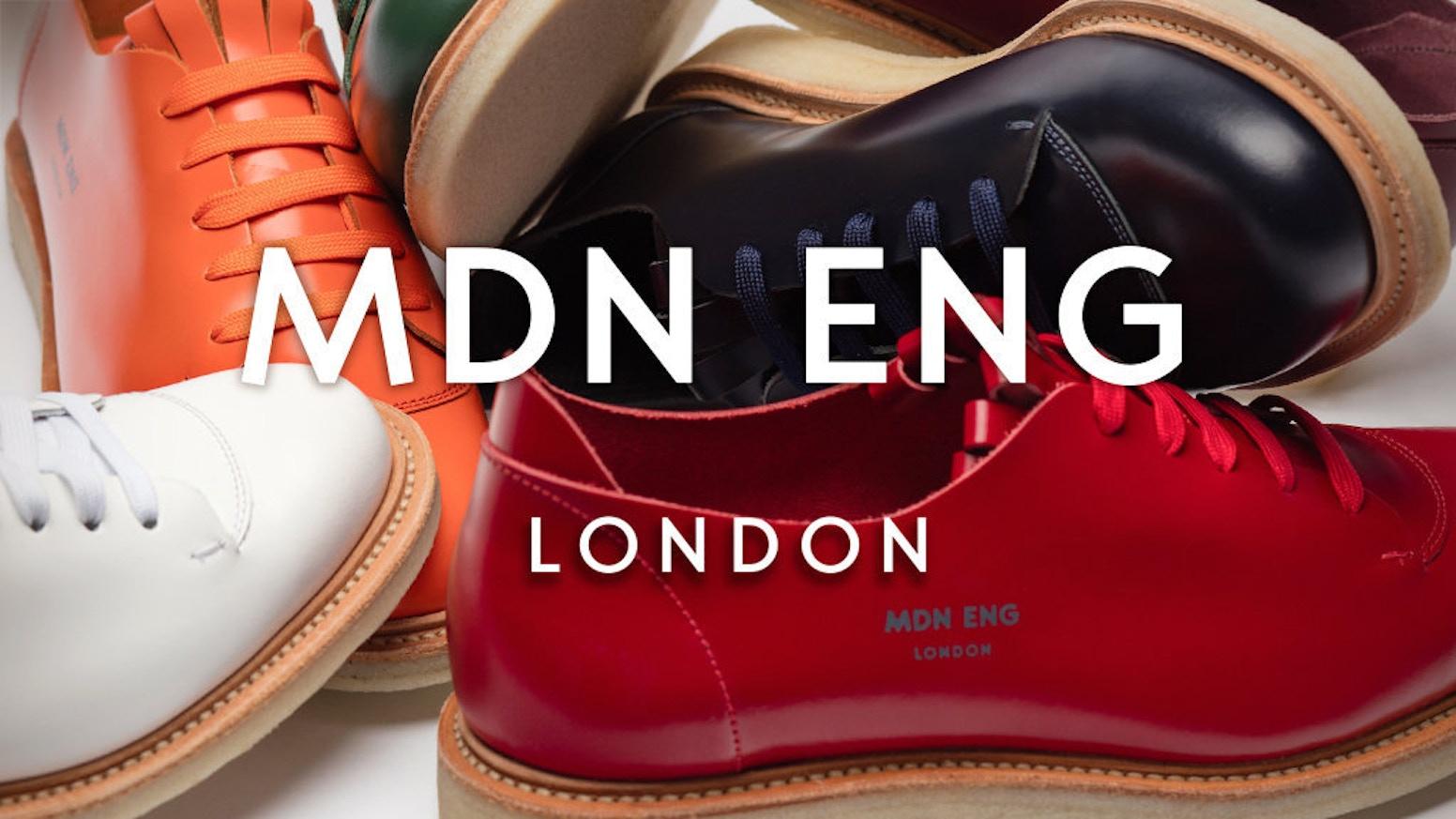 d9265d0f0fbcb MODERN ENGLISH // Modern, Unisex Shoes, Handmade in England by MDN ...