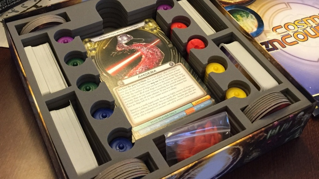 Foam Box Insert for Cosmic Encounter project video thumbnail