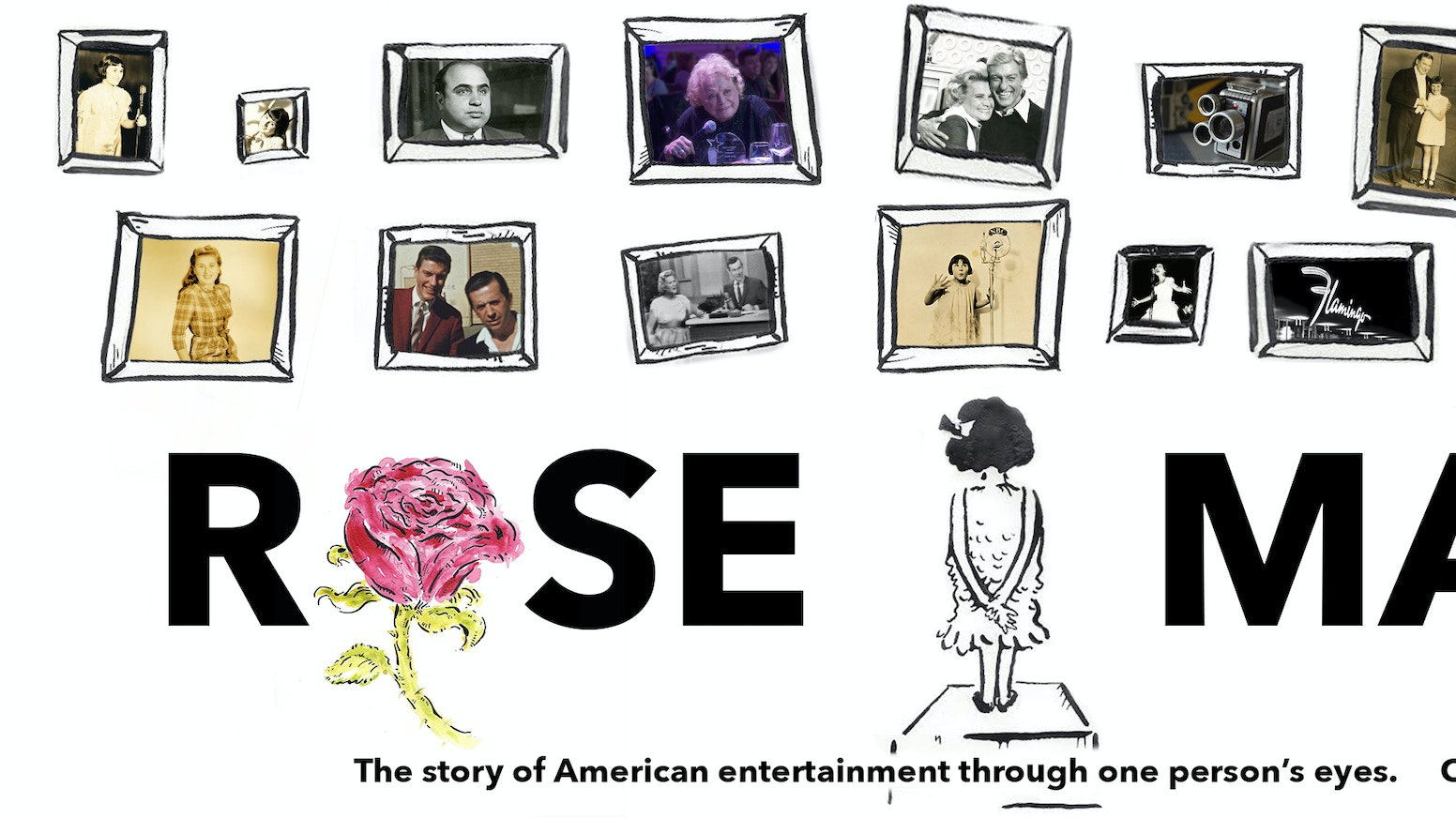 Rose Marie, the untold story of fame, love, tragedy & 90 years of American entertainment through the eyes of the woman who did it all. Visit rosemariemovie.com to donate and pick up some of our rewards.