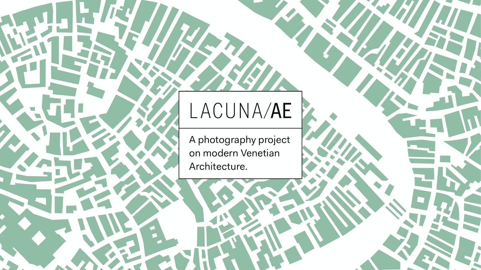 A unique photography project dedicated to modern architecture in Venice
