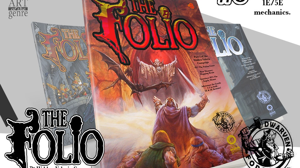 The Folio #8 The Hidden Valoria project video thumbnail