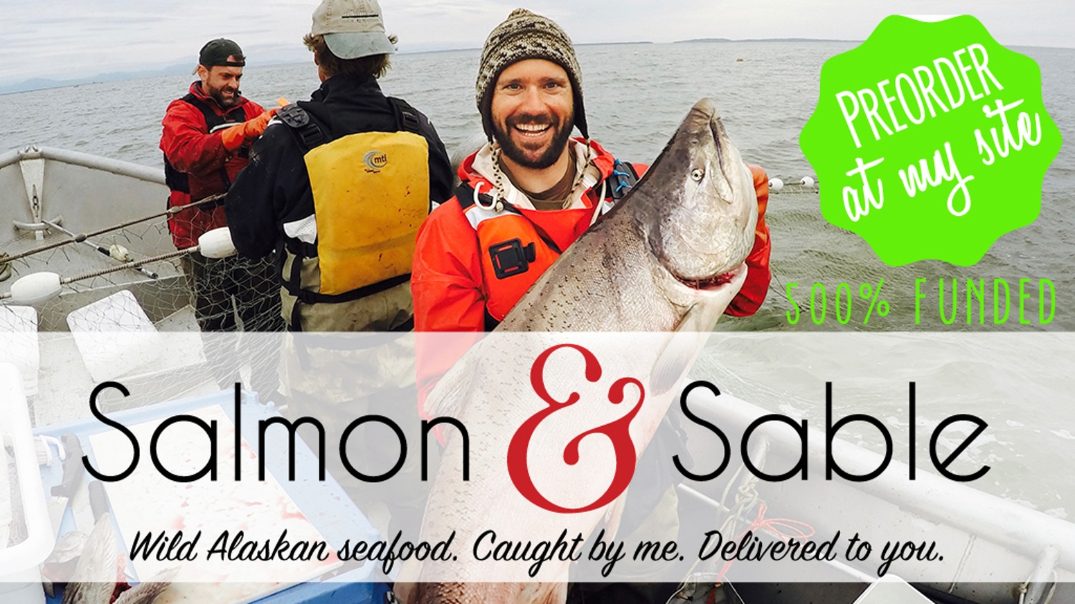 Preorder a Share of my catch. I'll catch it and ship it to your door. If you love Alaskan seafood, I'd like to be your fisherman.
