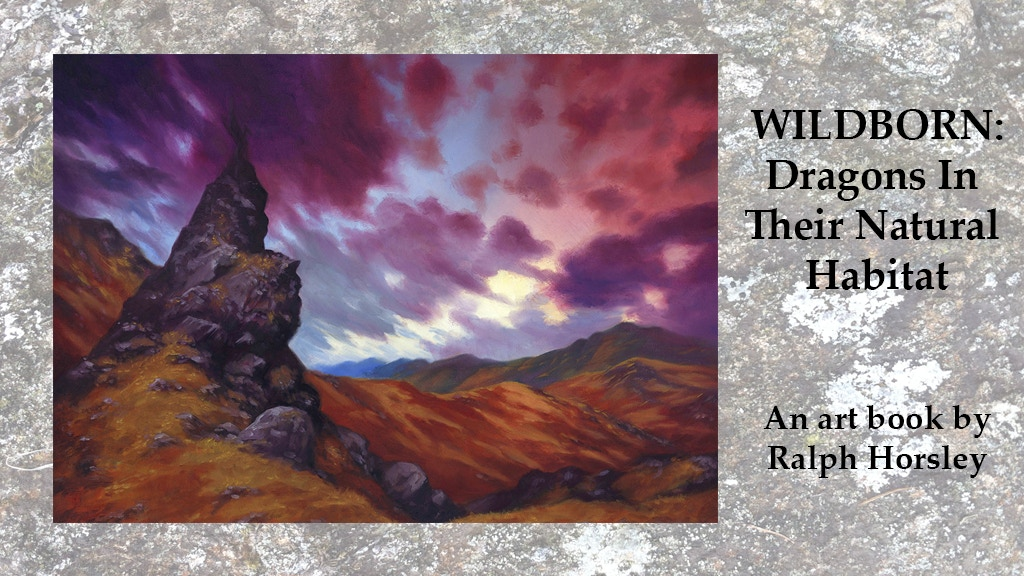 """""""Wildborn: Dragons In Their Natural Habitat"""". The art book. project video thumbnail"""