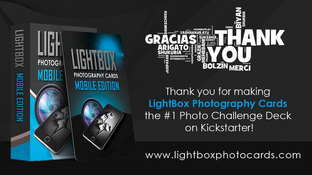 LightBox Photography Cards: Mobile Edition! project video thumbnail