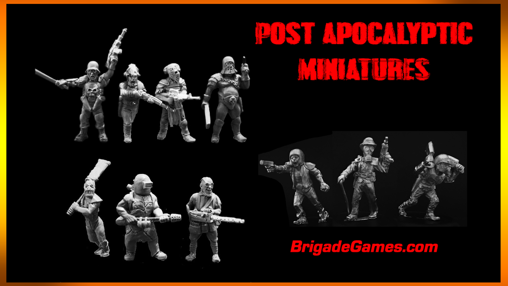 From the post-apocalyptic wastelands, these 10 ganger miniatures will terrorize any survivors and add some personality to your games.