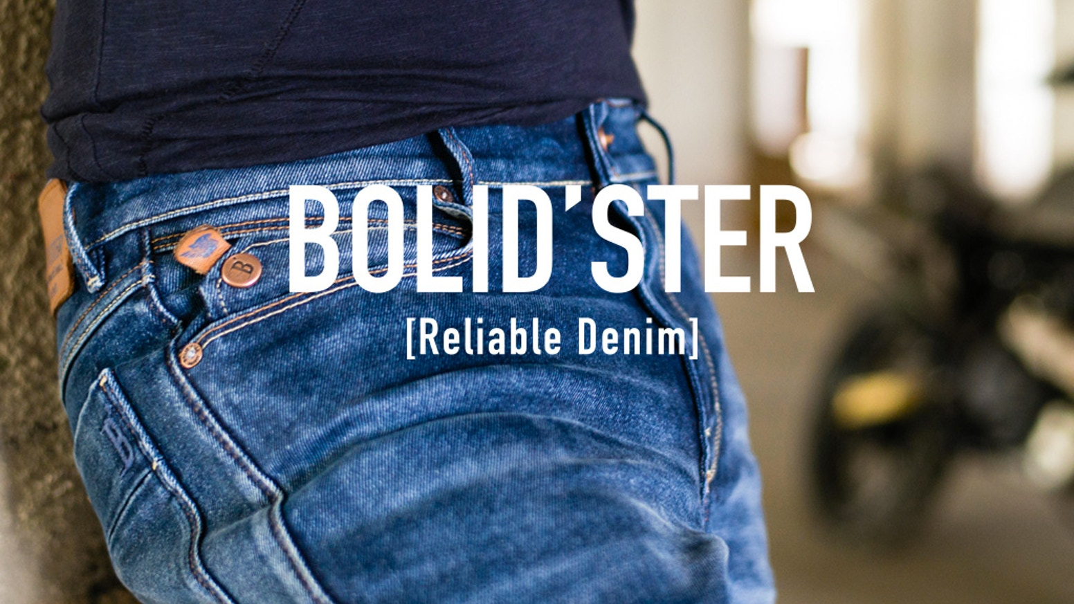 For every tough fall on the road (motorcycle, skate, downhill…) there's an equally tough line of denim to protect your skin