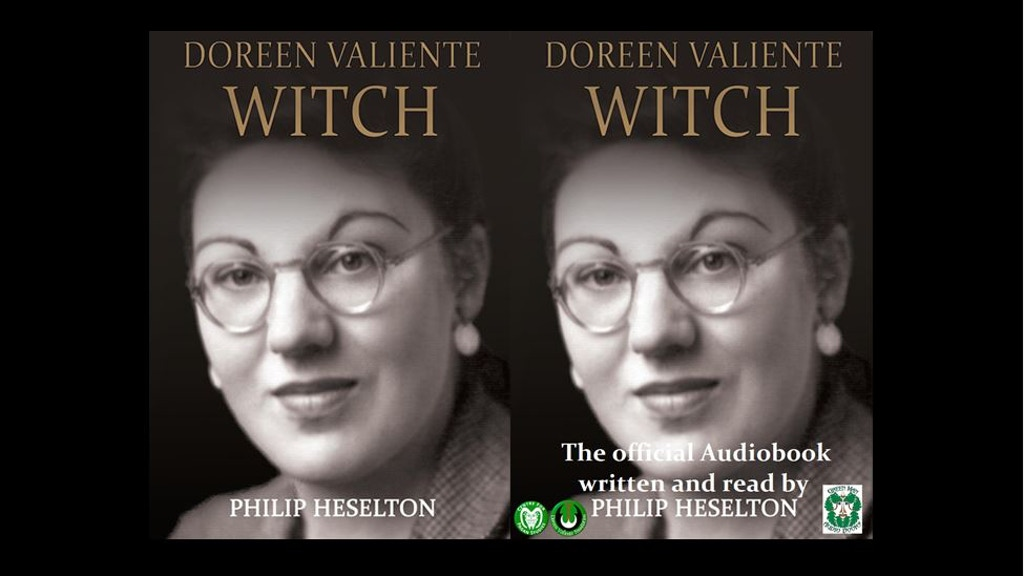 """Project image for Audiobook """"Doreen Valiente -Witch"""" Read by Philip Heselton"""