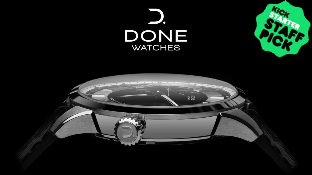DONE - SWISS MECHANICAL WATCHES project video thumbnail