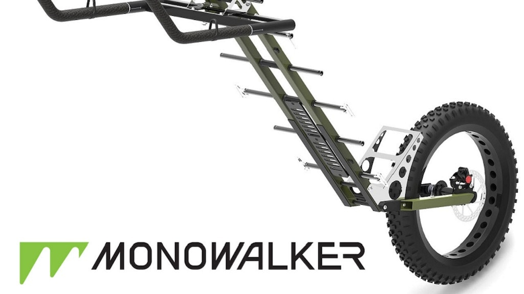 Monowalker Fatmate: The Ultimate Hiking Trailer project video thumbnail