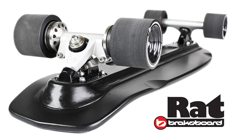 The Rat: A little skateboard with disc brakes by Brakeboard. project video thumbnail